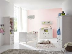 Nett babybett massivholz weiß