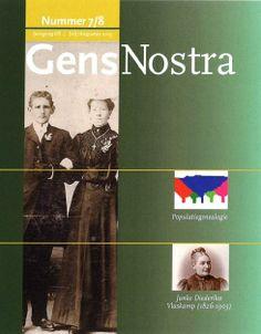 Het tijdschrift van de Nederlandse Vereniging Genealogie waar ik al jaren lid van ben.