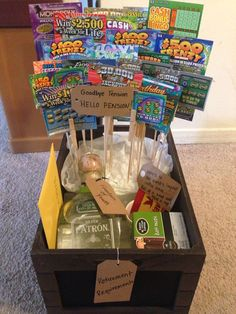Farewell and Retirement Party Decoration Ideas. Farewell and Retirement Party Decoration. Farewell parties are usually held for various occasions. In addition, a farewell party can be a great way to. Retirement Gifts For Men, Retirement Celebration, Retirement Party Decorations, Retirement Cakes, Retirement Parties, Retirement Ideas, Principal Retirement, Gift Baskets For Women, Diy Gift Baskets