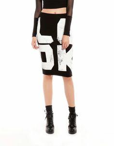 Bershka Turkey - Bershka message skirt