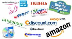 Quelques sites du e-commerce.