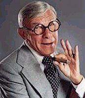 This is what he looked like when he visited me in the hospital when Victoria was born. at least that is what the drugs made me see! Famous Men, Famous Faces, Famous People, Classic Hollywood, Old Hollywood, I Will Remember You, George Burns, Thanks For The Memories, Hooray For Hollywood