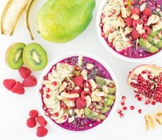 Anti-Oxidant Packed Pitaya (Dragonfruit) Bowls