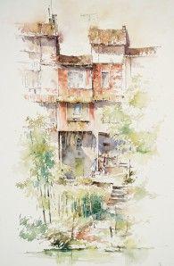 Jean Vigué (47) - 1er prix aquarelle-dessin 2013