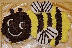 Bumble Bee Cupcake Cake