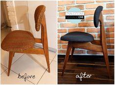 """filmowe krzesło (Wytwórnia filmowa """"Czołówka"""") przeszło właśnie metamorfozę. Typ krzesła 200/128 z Gościcińskiej Fabryki Mebli. Źródło: https://www.facebook.com/Jest-Dobrze-1519822008274573/"""