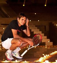 Roger Federer: one of my fave tennis players!