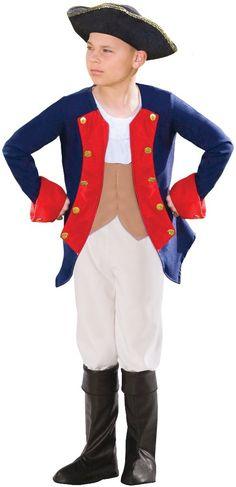 Patriot Soldier Boy Child Costume (As Shown;