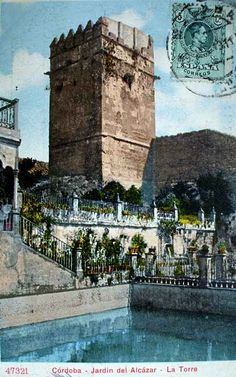 Córdoba. Jardines del Alcázar.