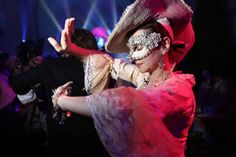 photo, bal, masqué, costume, versailles, chateau
