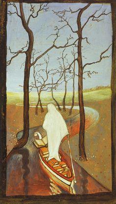 HUGO SIMBERG  Elämän Virralla (On the Stream of Life) (1896)