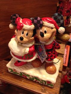 Mickey and Minnie Jim Shore Collectibles, The Old Farmer's Almanac General Store.