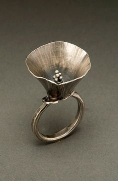 Ring | Dana Cassara. Sterling silver.