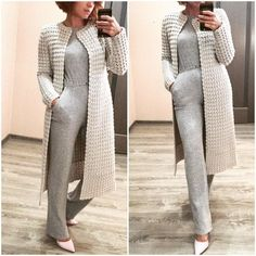 Полина Крайнова | ВКонтакте Stylish Jackets, Cold Day, Dusters, Duster Coat