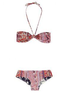Printed bikini, summer 2013, beach, vacation