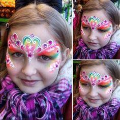 Maquillaje de fantasia para niñas #mujerconestilo #moda #maquillaje