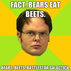 Sadly, I'm aware that this should be a picture of Jim, dressed as Dwight.