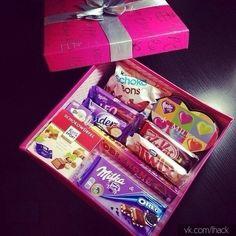 Идея для сладкого подарка