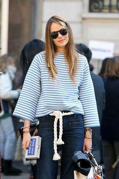 Stylish Ways To Wear A Belt