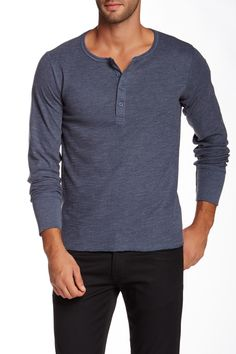 Long Sleeve Henley Tee by Rogue on @nordstrom_rack