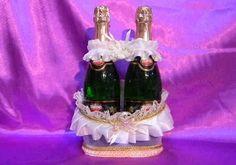 Корзинка для шампанского своими руками