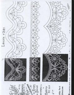 consultor - MªCarmen(Blanca) - Picasa Albums Web Bobbin Lace Patterns, Tatting Lace, Lace Making, Band, Simple Art, Hand Stitching, Paper, Crochet, How To Make