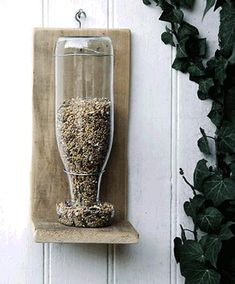 glass recycling for yard decorations