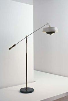 PHILLIPS : UK050108, Angelo Lelii, Rare floor lamp
