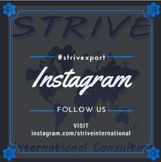 Find us on Instagram ! http://instagram.com/striveinternational