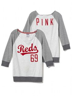PINK Cincinnati Reds Vintage Crew #VictoriasSecret http://www.victoriassecret.com/pink/cincinnati-reds/cincinnati-reds-vintage-crew-pink?ProductID=106260=OLS?cm_mmc=pinterest-_-product-_-x-_-x