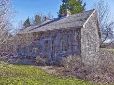 Old House - Found in MacPherson's Mills, Nova Scotia