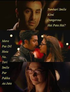 Dil to pehle hi Chura liya tumne Bollywood Quotes, Bollywood Songs, Bollywood Actress, Famous Dialogues, Movie Dialogues, Tv Show Quotes, Song Quotes, Yjhd Quotes, Caption Lyrics