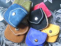 Leather purse (Monedero de cuero)