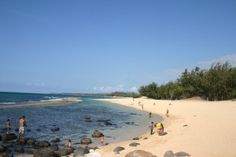 Baby Beach. This is the best beach for families with babies or young children. Many beaches in Maui have a strong undertow. This is a protected lagoon and great for sand and water play with little ones.