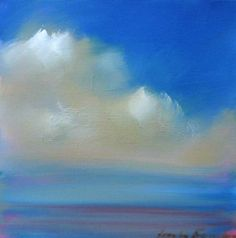 paintings of clouds and sky | studio tours welcome, enquires call 415 200 9773 or wareness@yahoo.com