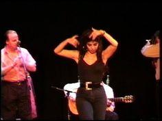 flamenco Juana Amaya prueba de sonido Paris 1995 - YouTube