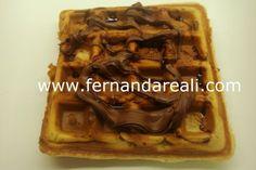 Waffle doce e salgado