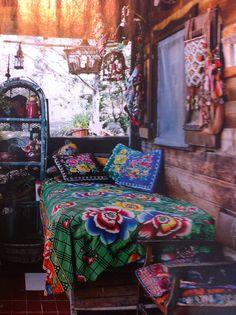 Gipsy Ibiza style