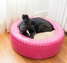 Hundbett Selber Bauen Aus Altem Reifen