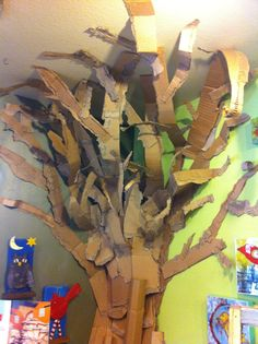 Recycling at its best! Imagine making this for your classroom or child's play room.