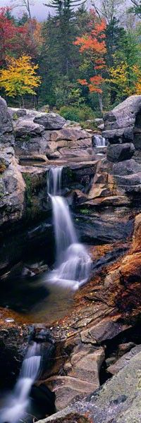 Screwauger Falls, Grafton Notch State Park, Maine. Photo: Peter Lik