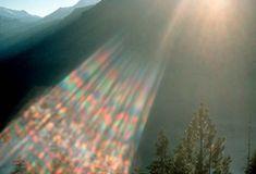 Rainbow Lens Flare With a rainbow lens flare