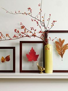 20 DIY Fall Decor Inspirations and Ideas