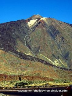 Mount Teide Tenerife with its 3718m is Spain's highest peak and the world's 3rd tallest volcano when it is measured from its base on the ocean floor. Admire in this picture what the locals call the Teide tie...