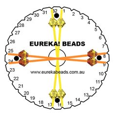 Kumihimo Beading Instructions | Use our pattern information to create your very own beaded kumihimo ...