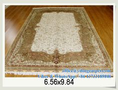 6.56' x 9.84' silk carpet Please feel free to contact Ms. Amy Yu for more stock pictures. Viber&WhatsApp: +86 13733189846 E-mail: office@yilongcarpet.com