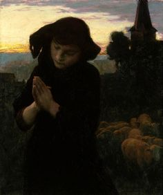 Angelus by Emile Friant