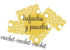 Patrones Crochet: Patron Crochet Bufanda Cadenetas