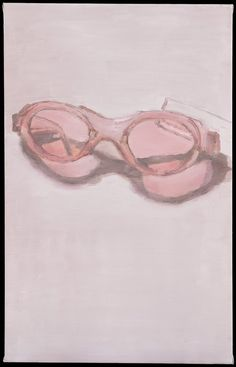 Luc Tuymans, Pink Glasses (2001)