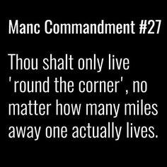 Image result for Manc commandment